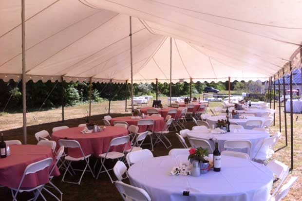 Party rentals on Cape Cod
