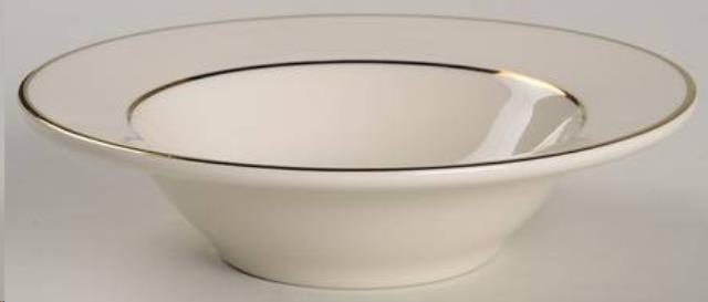 Where to find CHINA, WHITE GOLD RIM 8  SOUP BOWL  10 in Falmouth