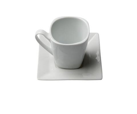 Where to find CHINA, WHITE SQUARE COFFEE SAUCER in Falmouth