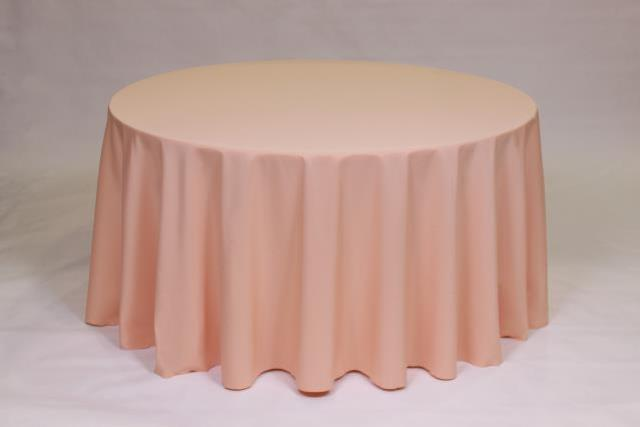 Where to find CORAL, TABLECLOTH 132  ROUND in Falmouth