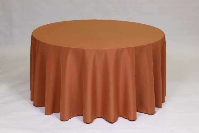 Where to find COPPER, 108  ROUND TABLECLOTH in Falmouth
