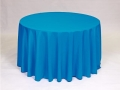 Rental store for COBALT, 90  ROUND TABLECLOTH in Falmouth MA