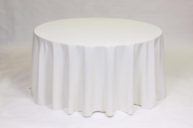 Where to find IVORY, 90  ROUND TABLECLOTH in Falmouth