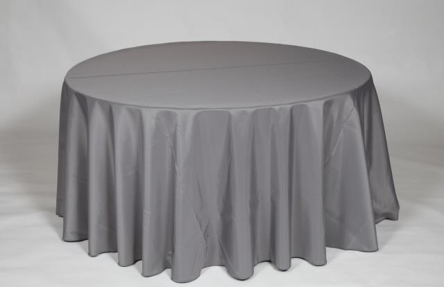 Where to find CHARCOAL, 120  ROUND TABLECLOTH in Falmouth