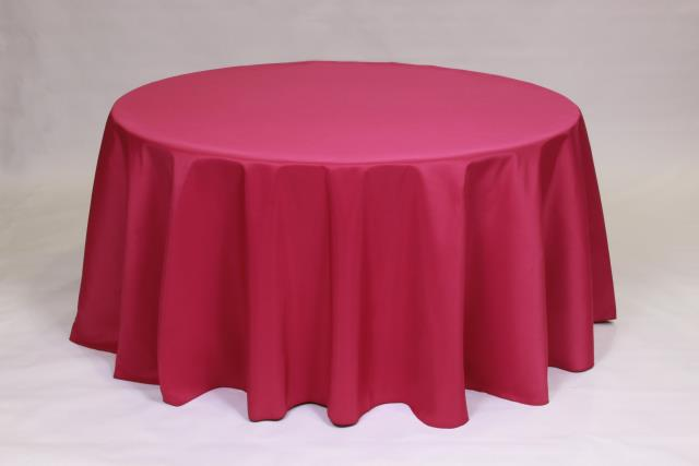 Where to find FUCHSIA, 120  ROUND TABLECLOTH in Falmouth