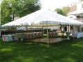 Rental store for TENT, 30  X 40  FRAME in Falmouth MA