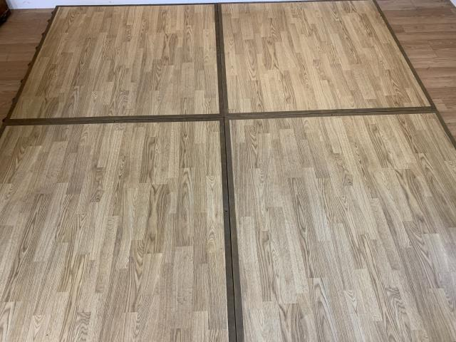 Where to find DANCE FLOOR, 4  X 4  N.E. PLANK W BORDER in Falmouth