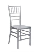 Rental store for CHAIR, CHIAVARI SILVER in Falmouth MA